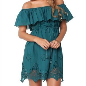 The Jetset Diaries Farah Mini Dress NWT Off Shldr